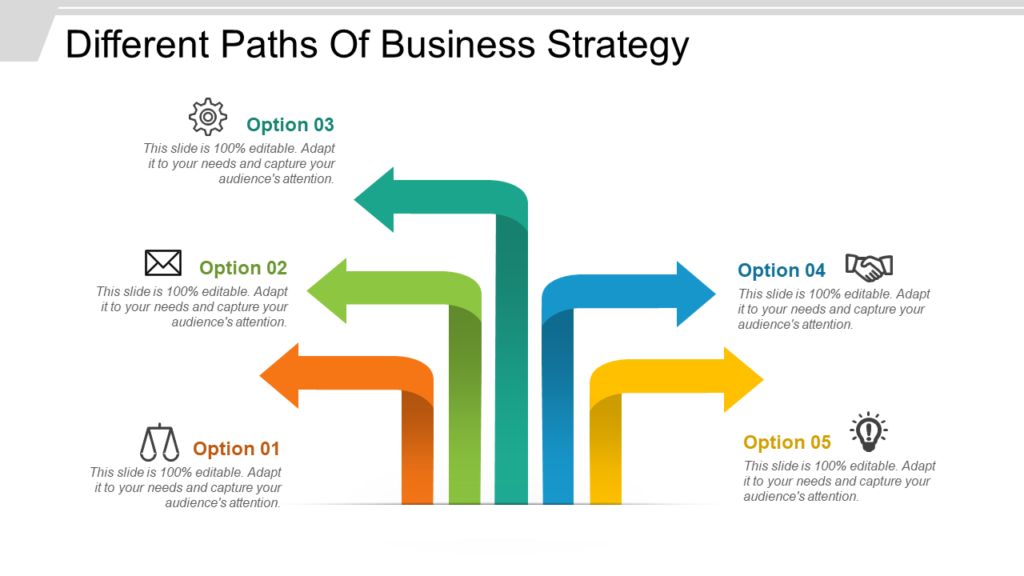 Business Strategy Paths PPT