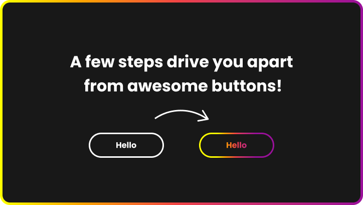 Example of gradient color button
