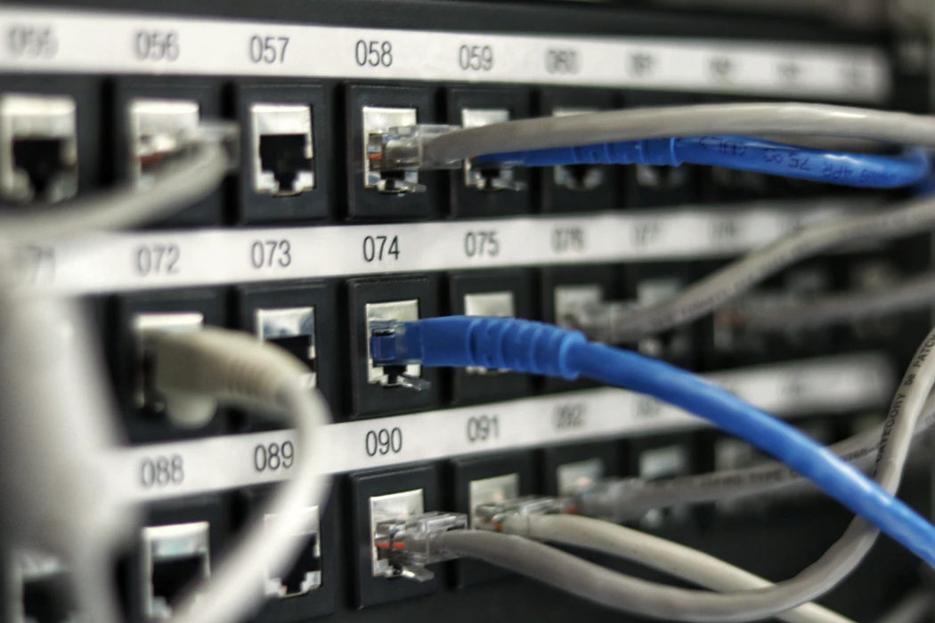 Patch panel or switchboard