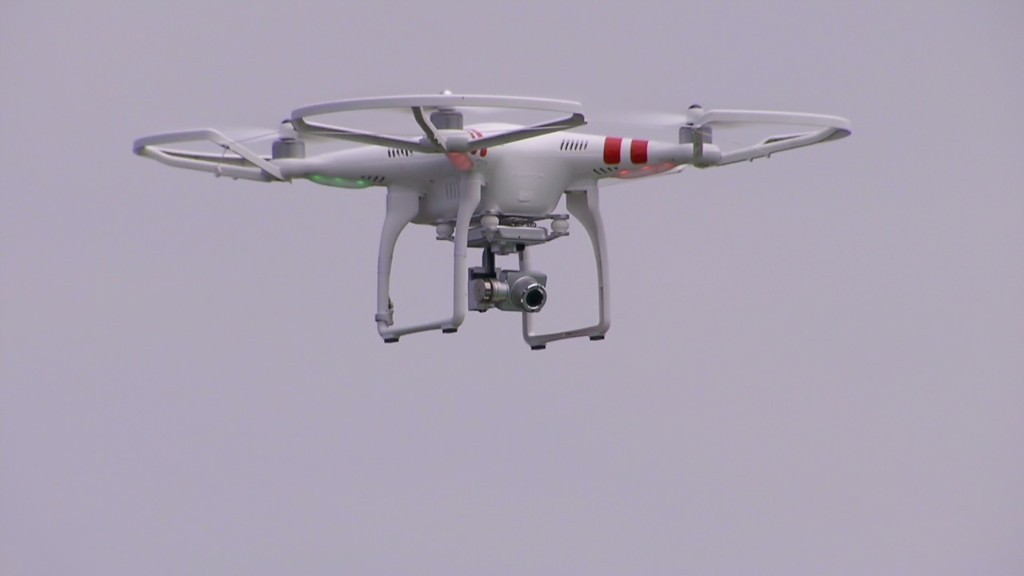 Selling luxury homes using drones