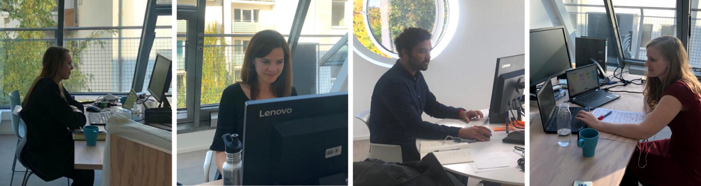 Behind the scenes: the WFP Innovation Accelerator team delivers a virtual bootcamp in October 2020