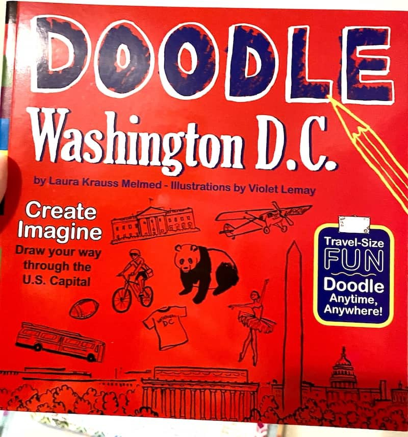 Learn about Washington DC with Doodle Washington DC by Timberdoodle