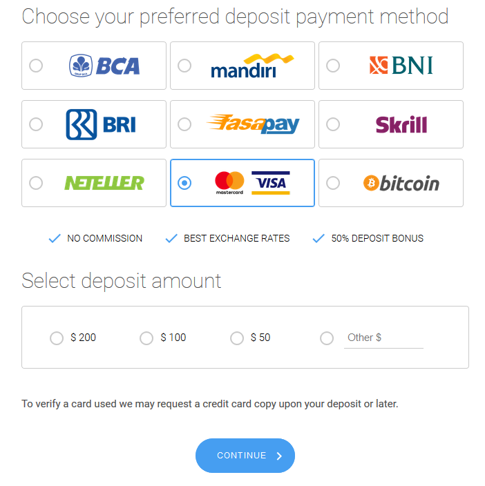 How To Make A Deposit At Octafx Forex Trading Account By Imo Joseph Medium