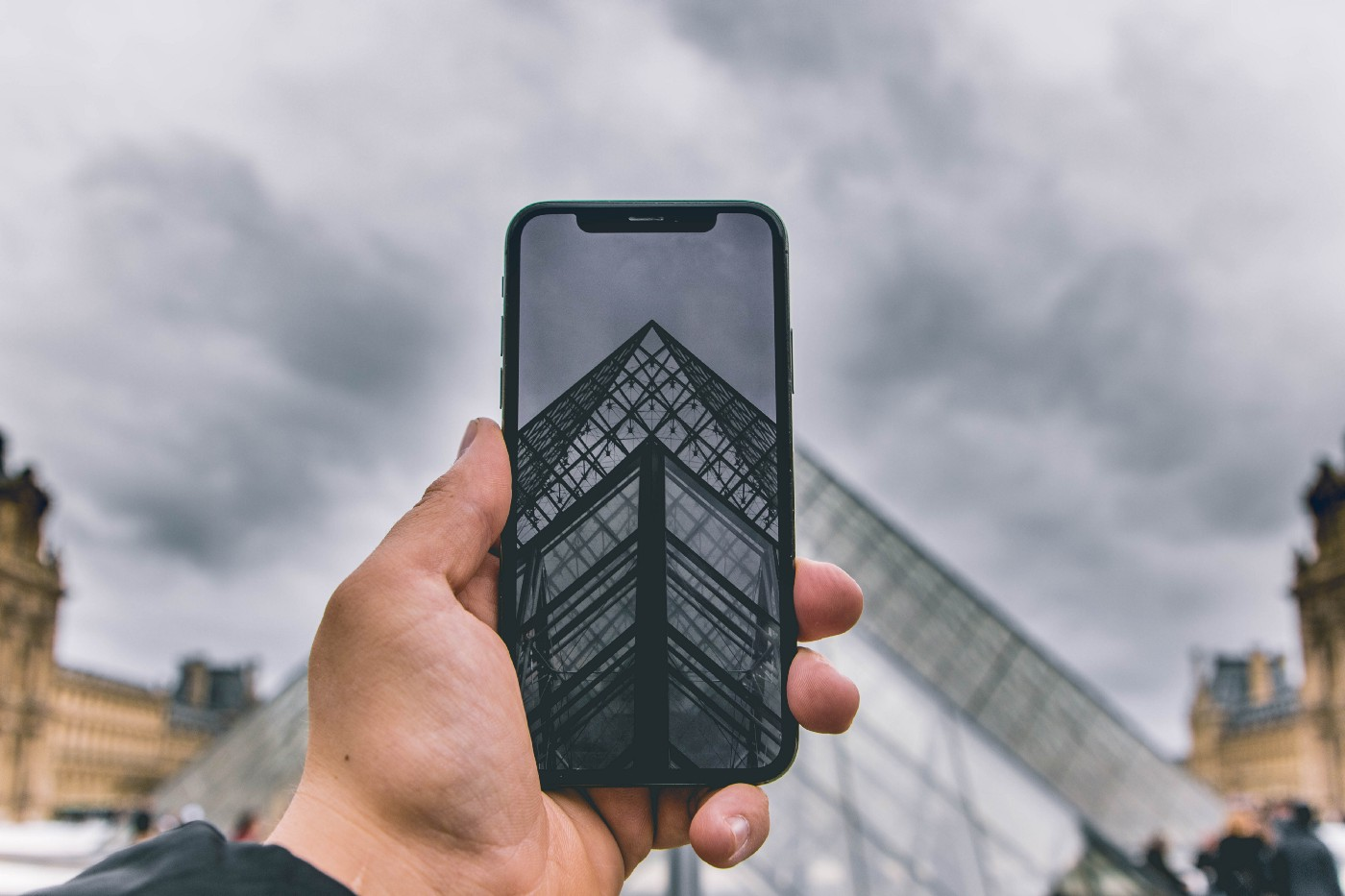 A picture of a smartphone