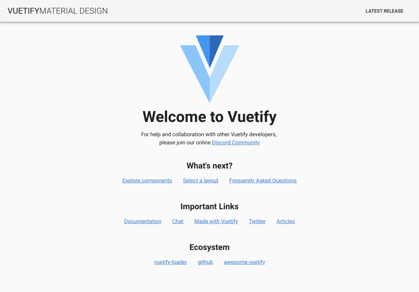 Getting Started with Vuetify 2 0 - Vue Mastery - Medium