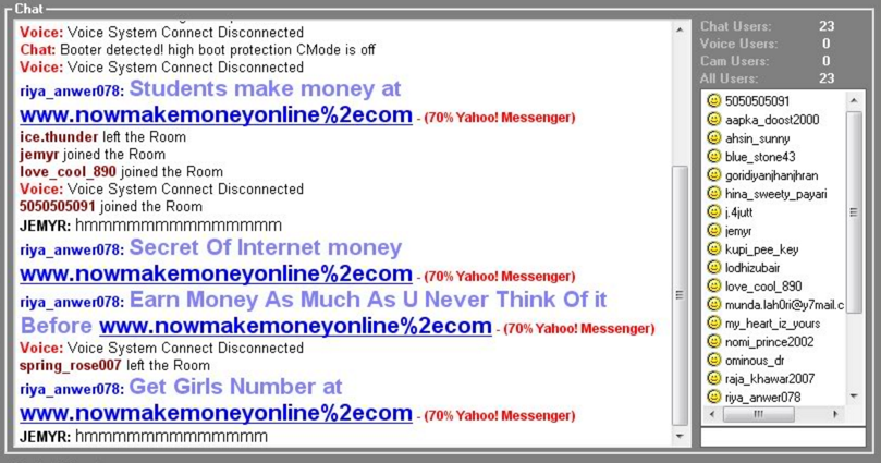 Yahoo chat sign up