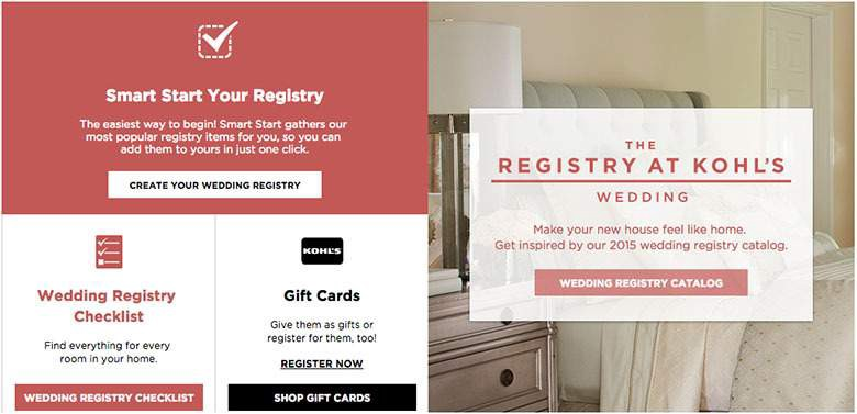 Kohls Wedding Registry.10 Money Saving Tips You Re Probably Not Using When Shopping At Kohl S