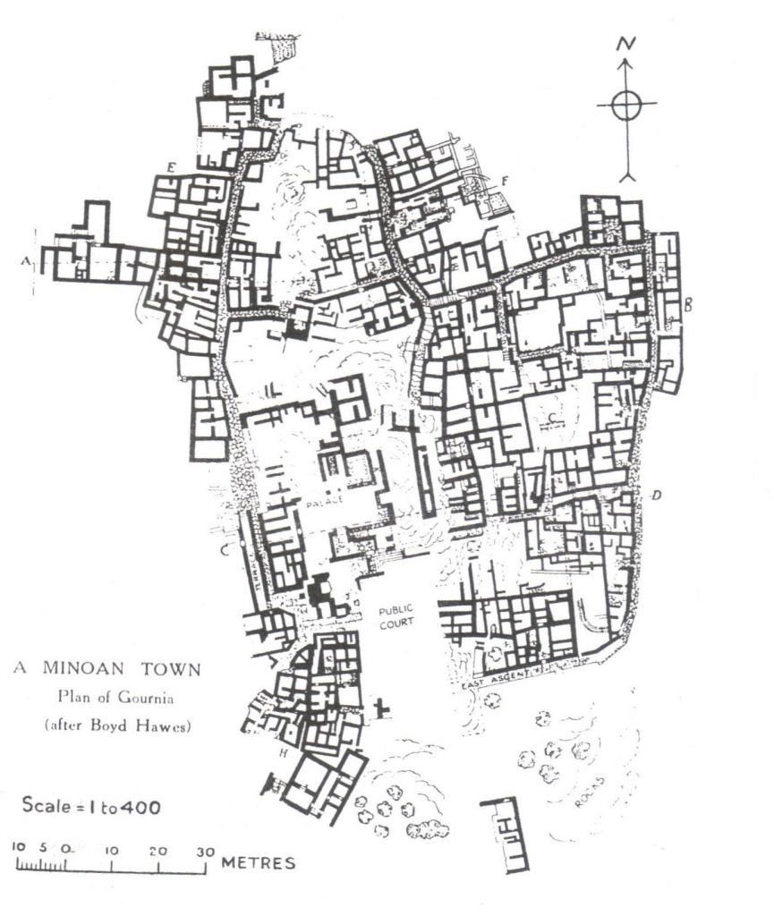 013 PLAN OF GOURNIA