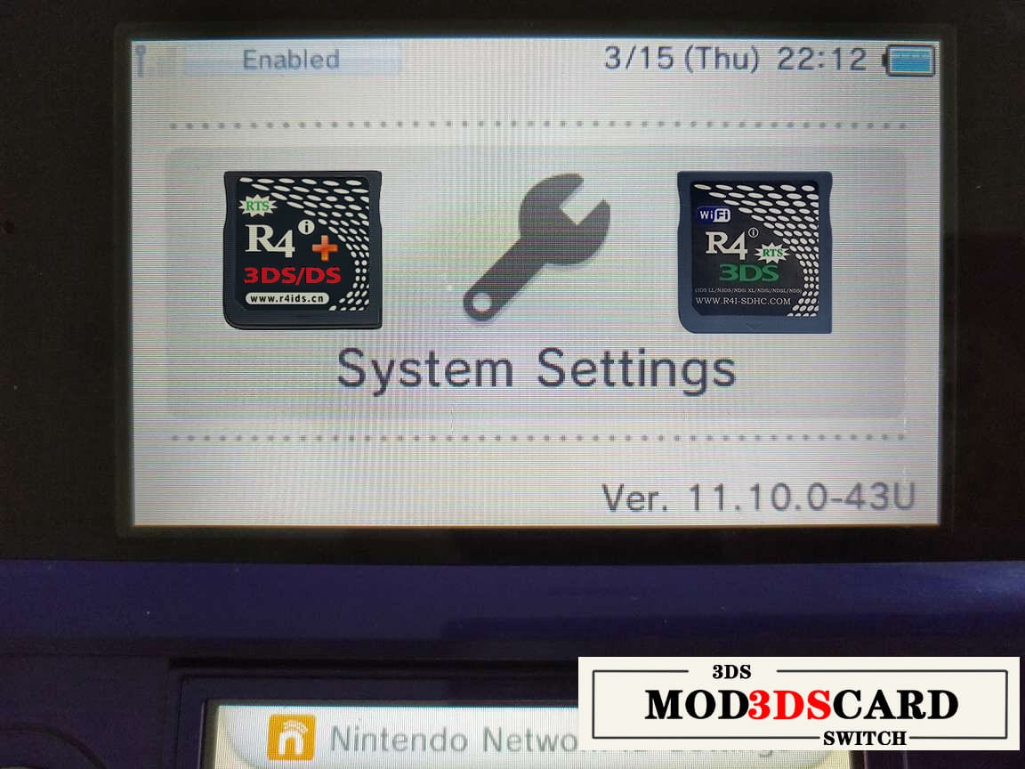 Nintendo 3ds Firmware 11 10 0–43 has been updated! - Xingxing Pi