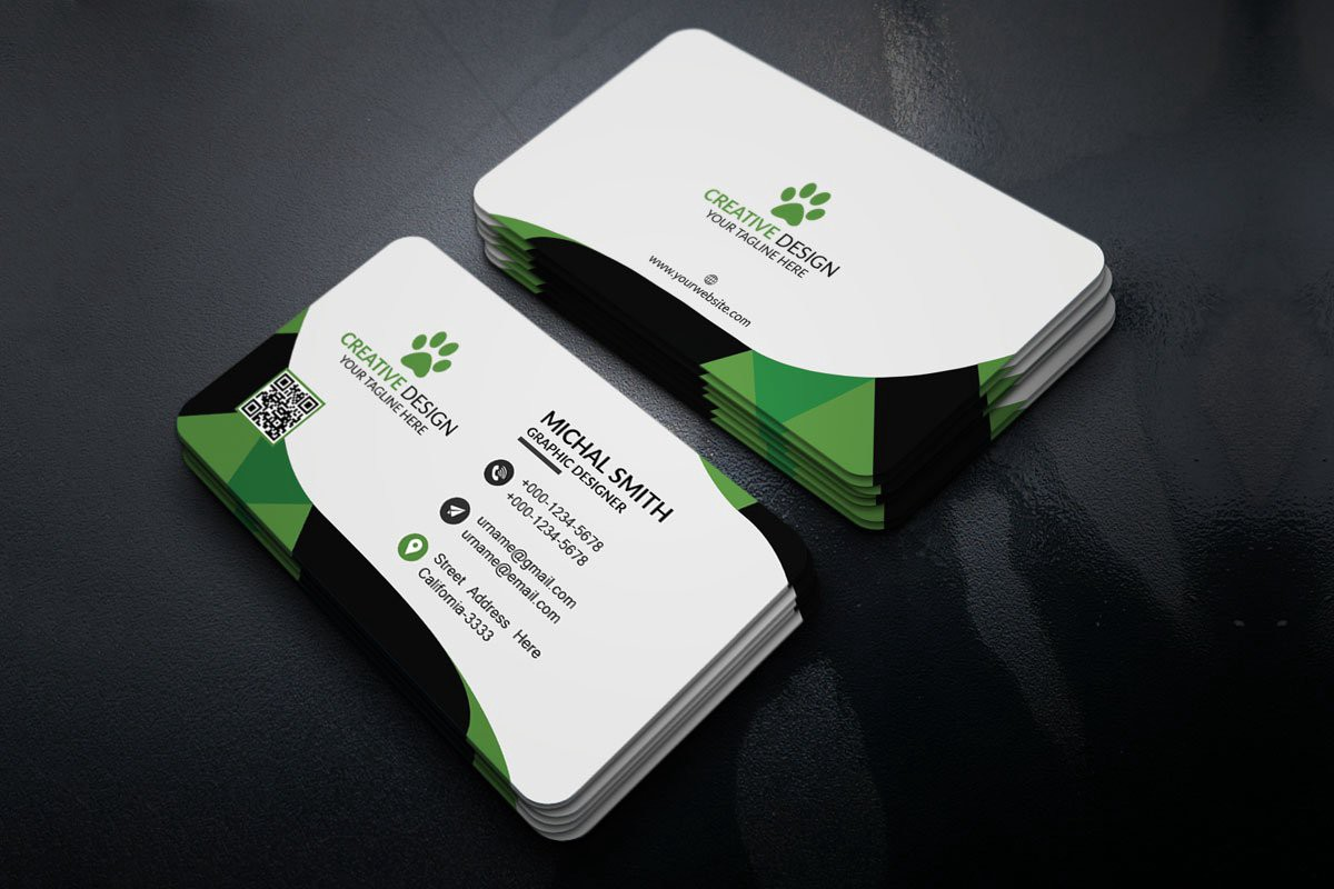 21 + Free Business Cards Templates PSD For 21  by Syed Faraz With Regard To Creative Business Card Templates Psd