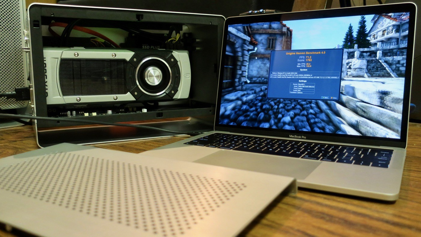 Training Your Neural Net with eGPU Acceleration on Mac with