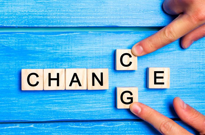 Making a change is taking a chance. Choose well.
