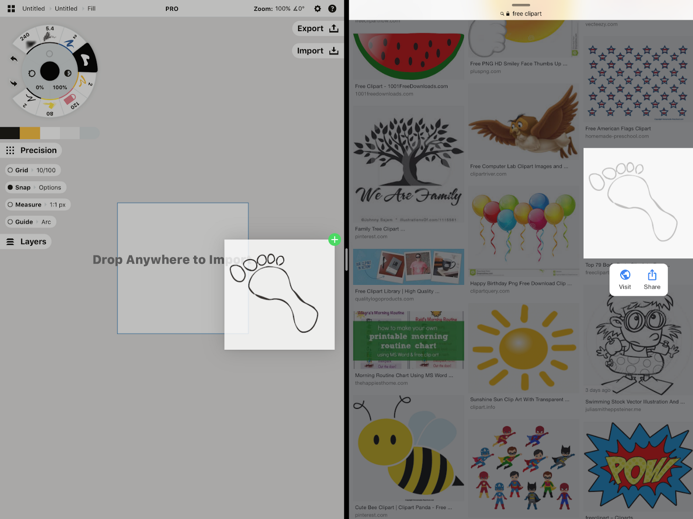 How to Make a Custom Brush Stamp and Grain - Concepts App - Medium