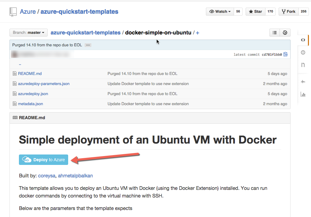 Azure Tip — create a Docker VM in 5 minutes or less