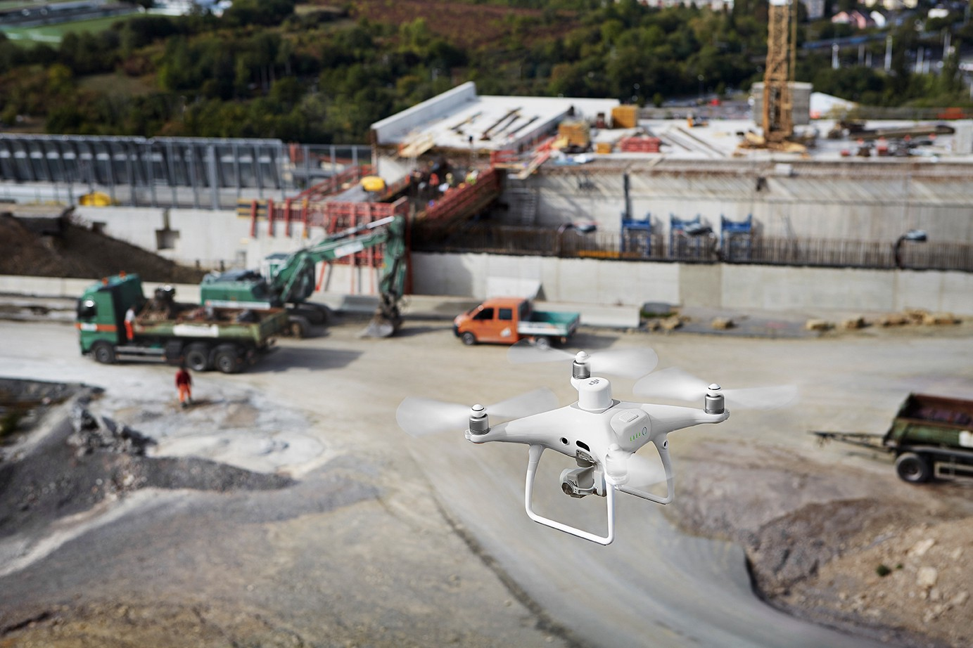 The Future of Drone Mapping with the DJI Phantom 4 RTK on