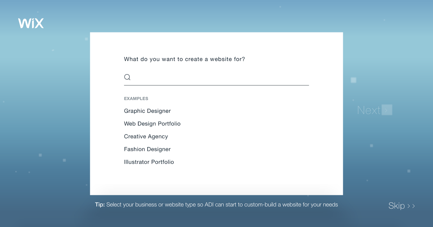 Is it okay for a UX professional to use Wix for their portfolio?