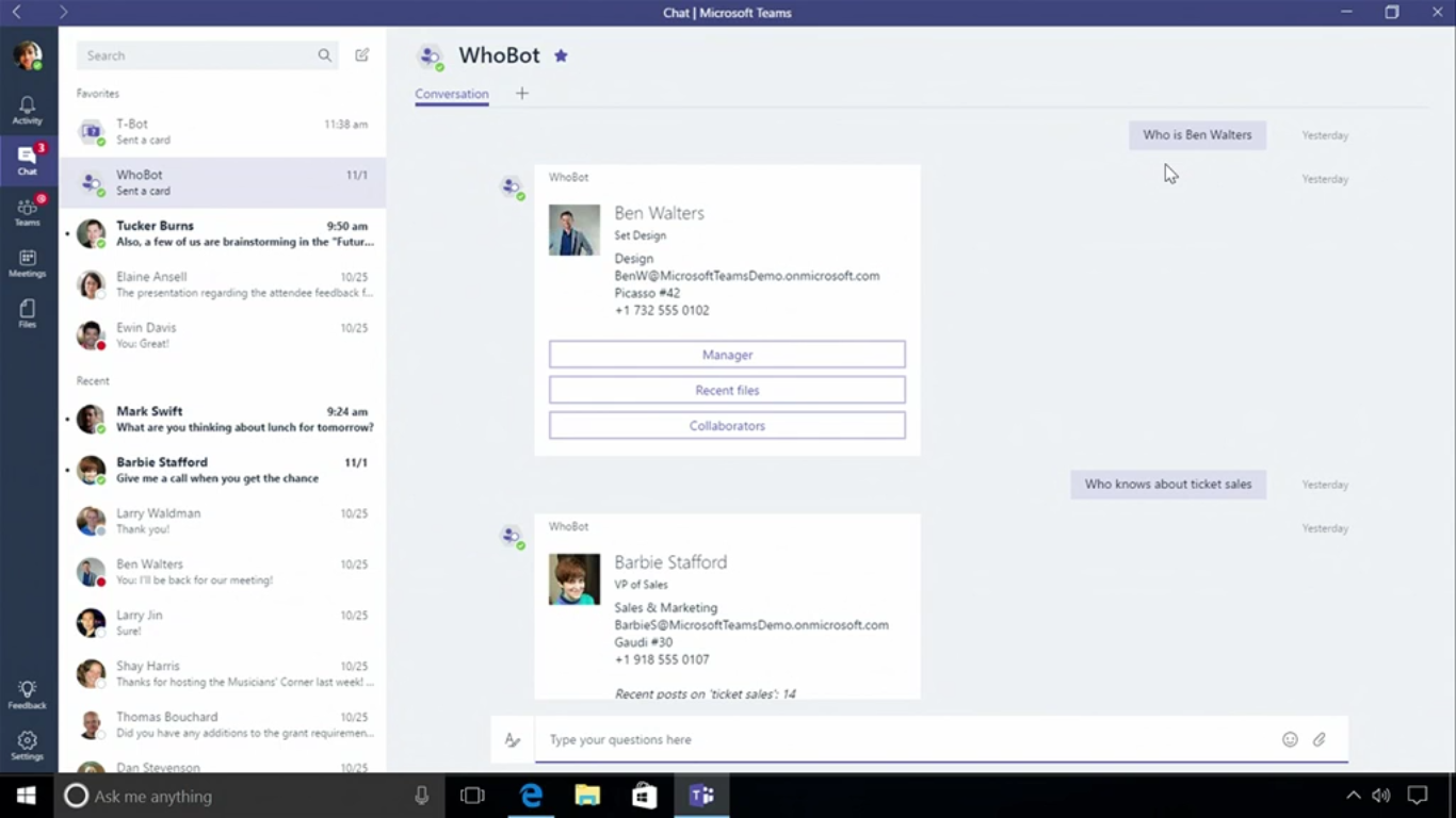 Five must have bots for Microsoft Teams - YellowAnt