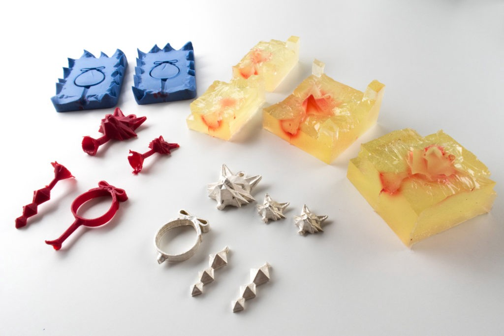 How to Make Silver Jewelry from 3D Printed Molds - ZMorph - Medium