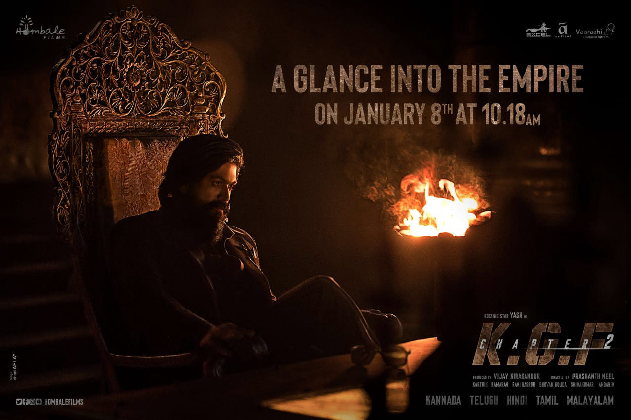 KGF: Chapter 2 official teaser date finally revealed