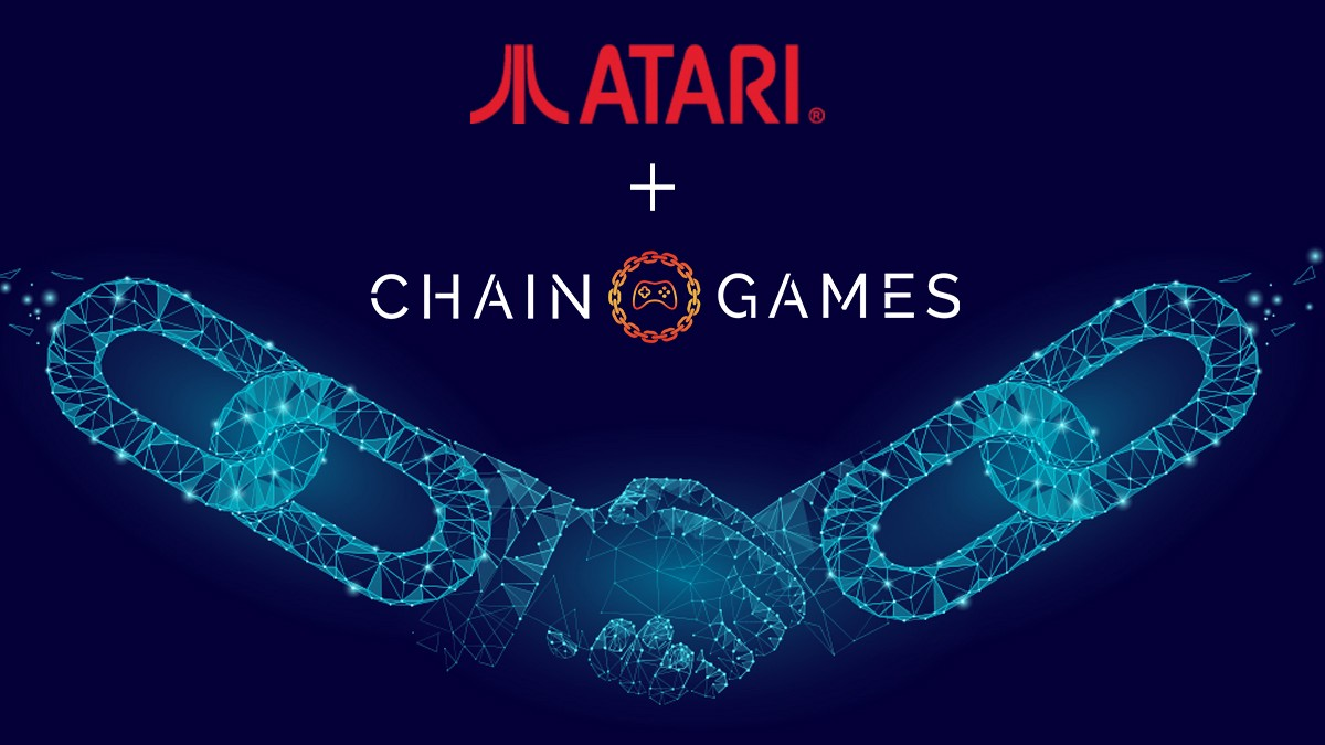 CHAIN GAMES and ATARI Partnership