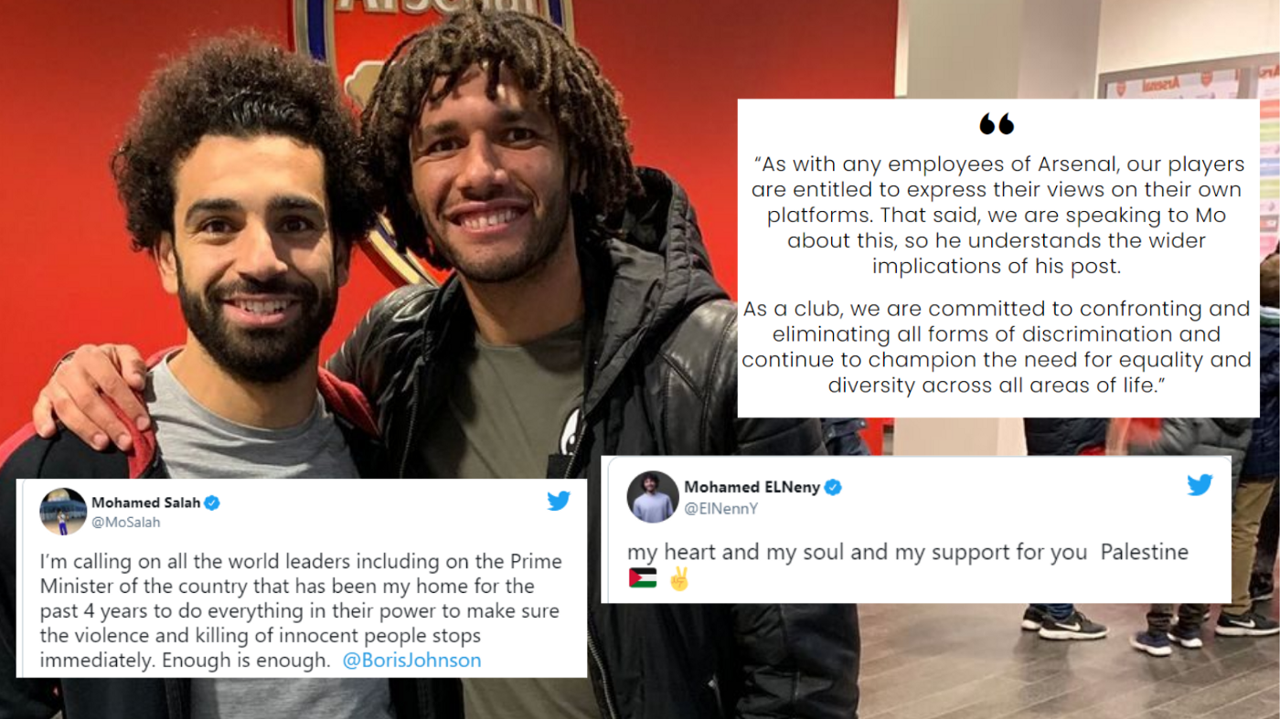 All about the Drama supporting Mohamed Elneny supporting Palestine, and why Mohamed Salah should be ashamed!