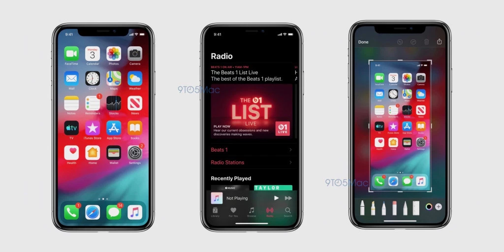 e9d075963aa074 Image source: Exclusive: Screenshots reveal iOS 13 Dark Mode, new Reminders  app, more | 9to5Mac