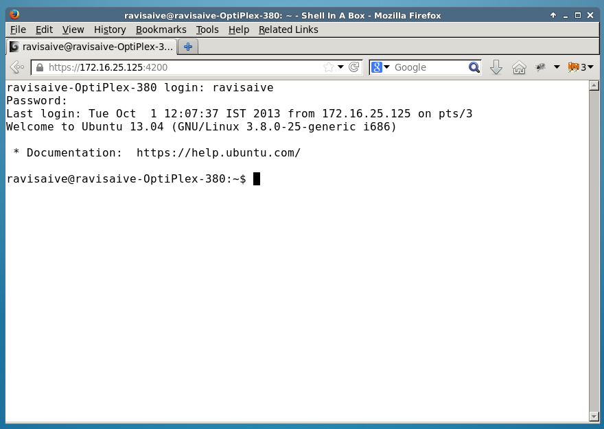 SSH to a remote server from proxy restricted network