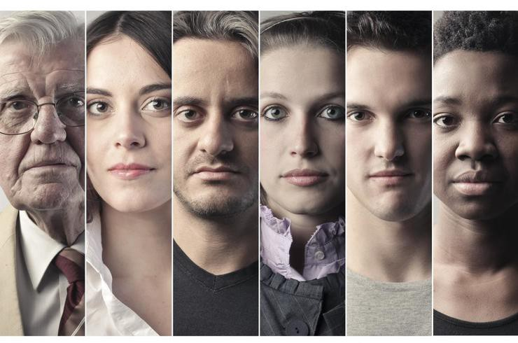 People with different genetic makeups