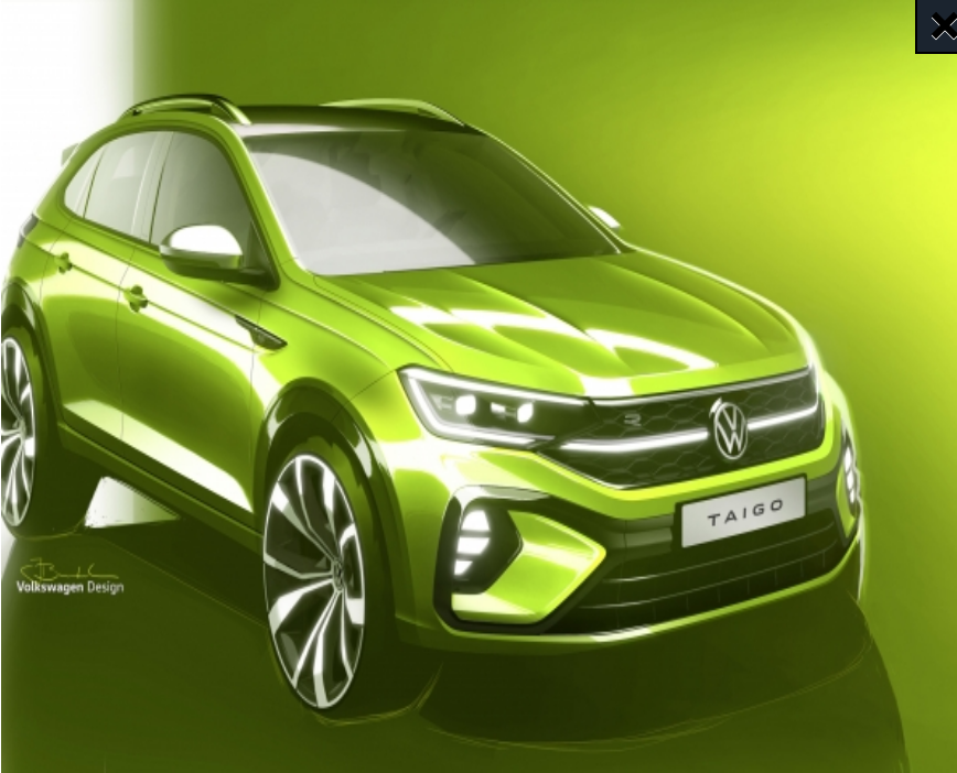 New arrival at Volkswagen: the Taigo is on its way!