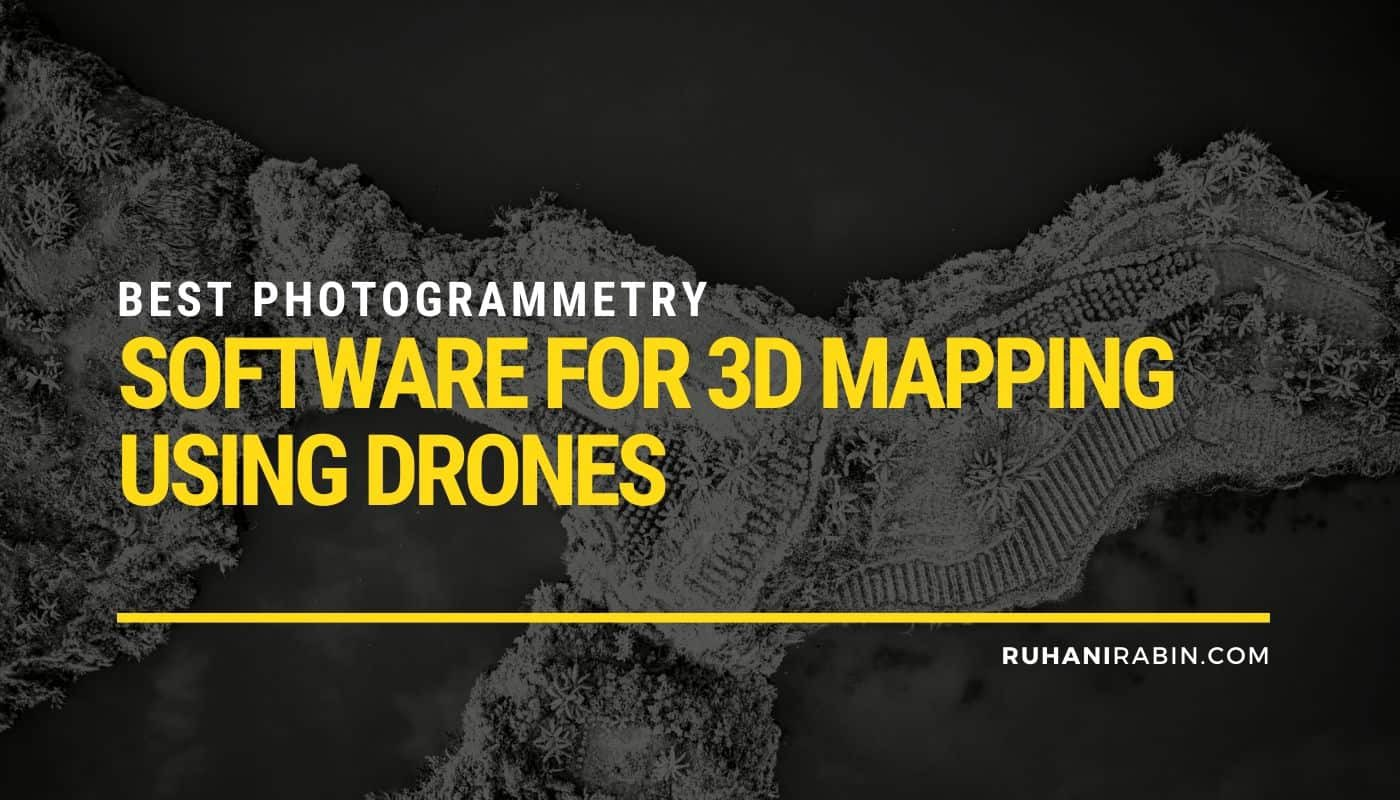 10 Best Photogrammetry Software for 3d Mapping Using Drones Featured Image