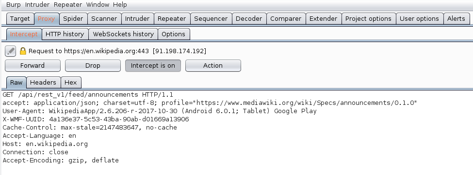 How to Debug HTTP(S) Traffic for Android Apps with Burp Proxy