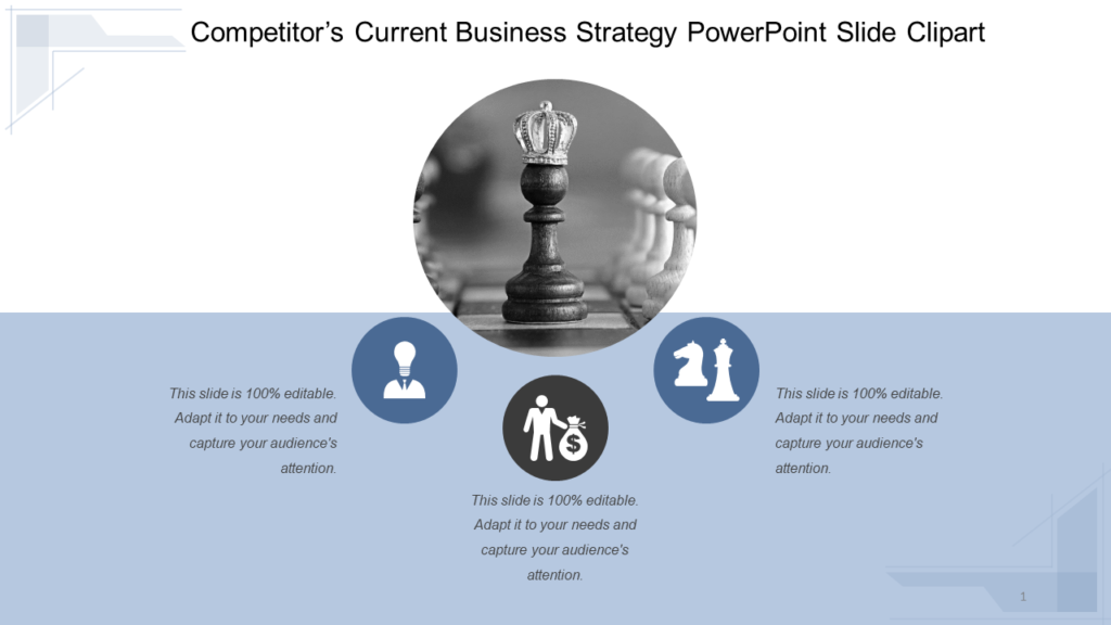 Competitor Business Strategy PPT