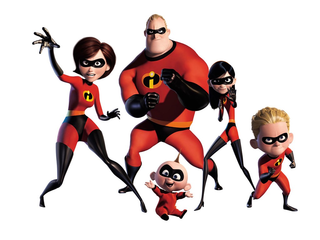 The Parr family—The Incredibles
