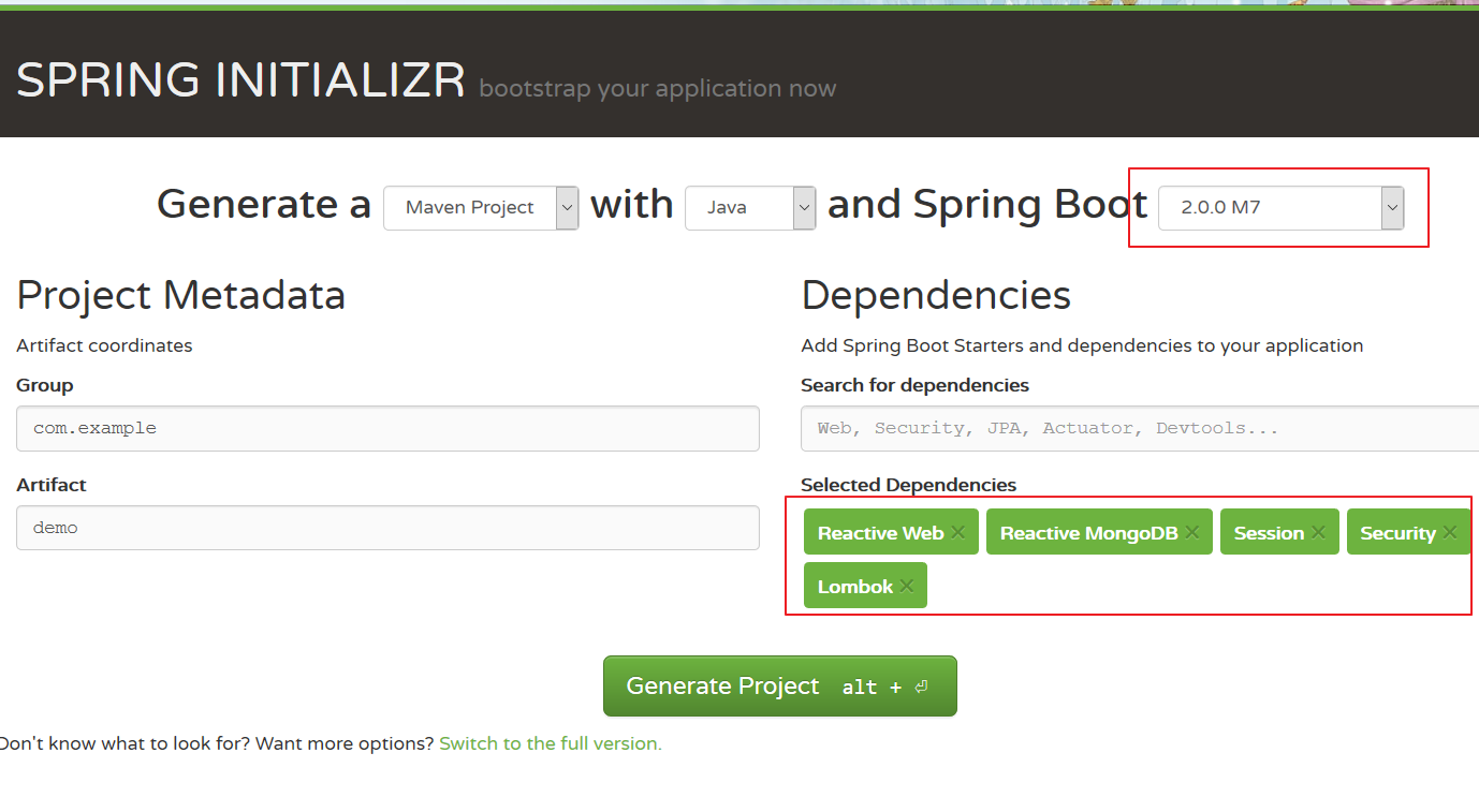 Build a reactive application with Spring Boot 2 0 and Angular