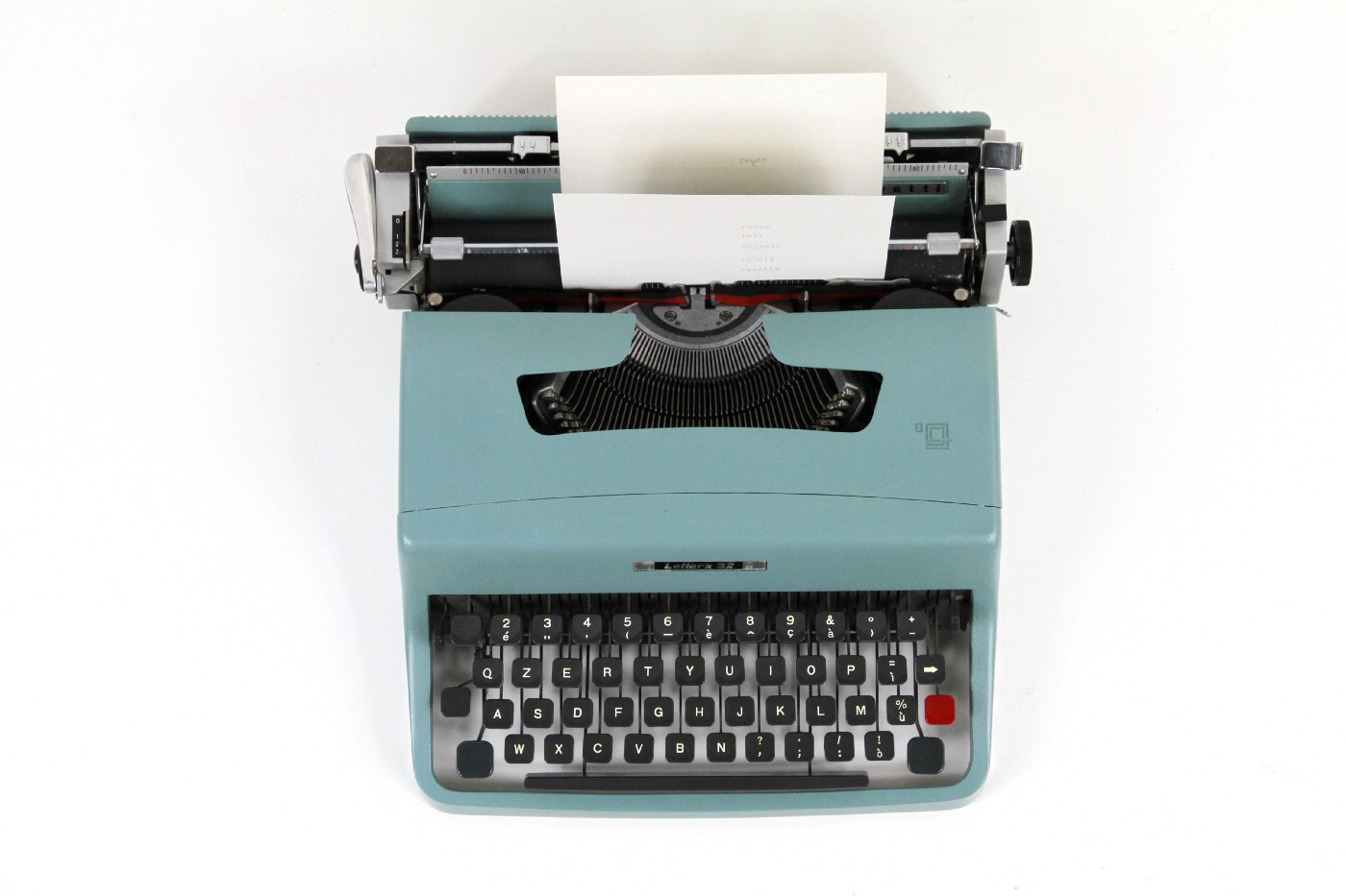 From Typewriter to Blog in—a Musing