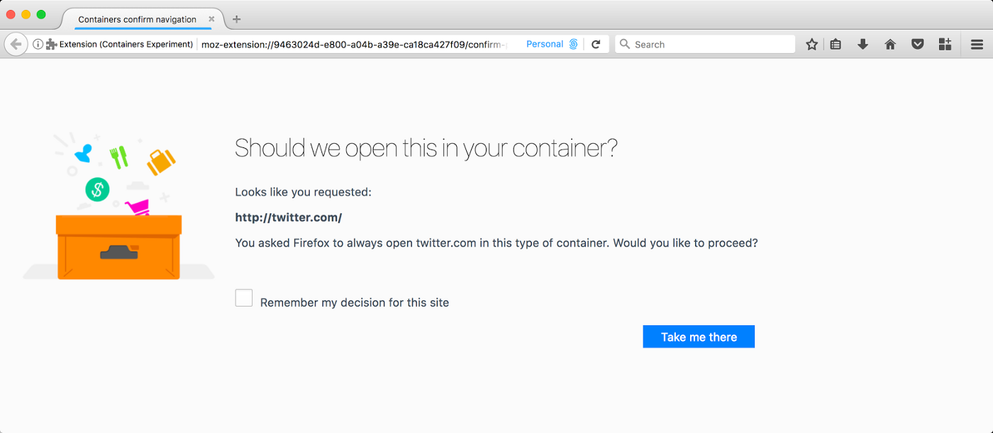 Containers are Go! - Firefox Test Pilot - Medium