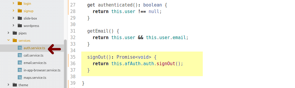 How To Authenticate with Firebase and Ionic 3 — Email/Password and
