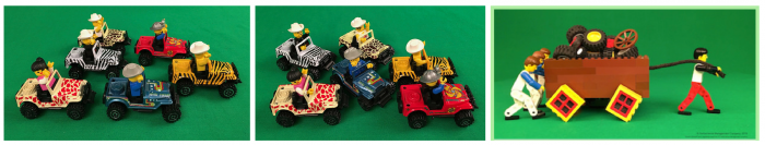 LDGM LEGO Images of Alignment and Teamwork
