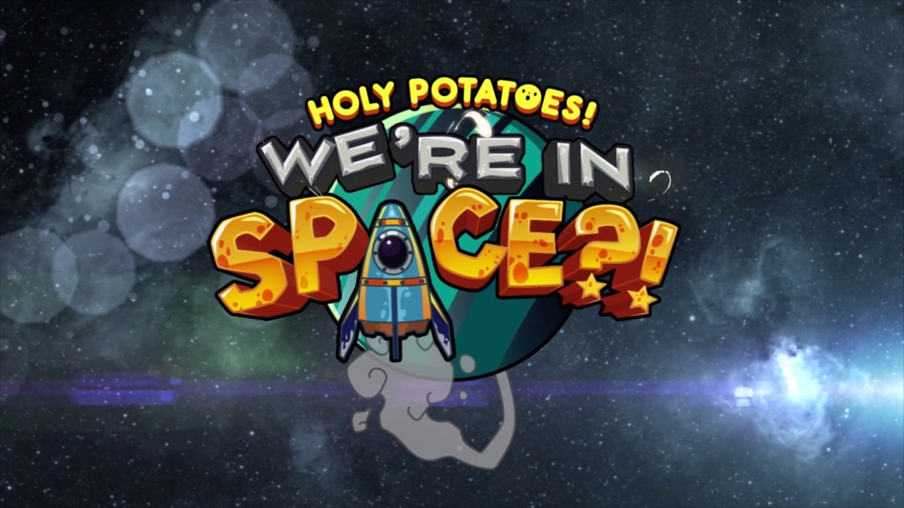 Game logo: Holy Potatoes, We're in Space?!