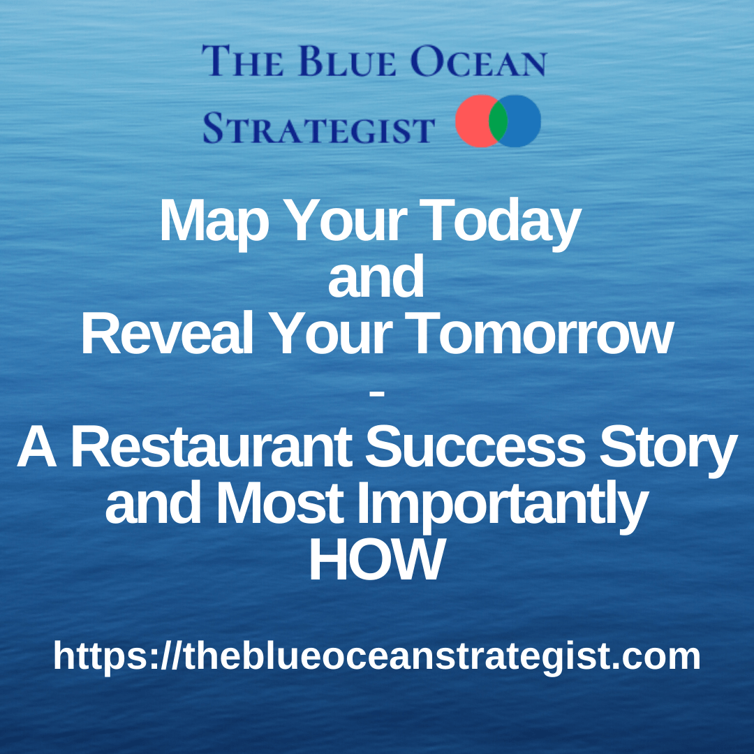 Map your today and reveal your tomorrow. A restaurant industry example.