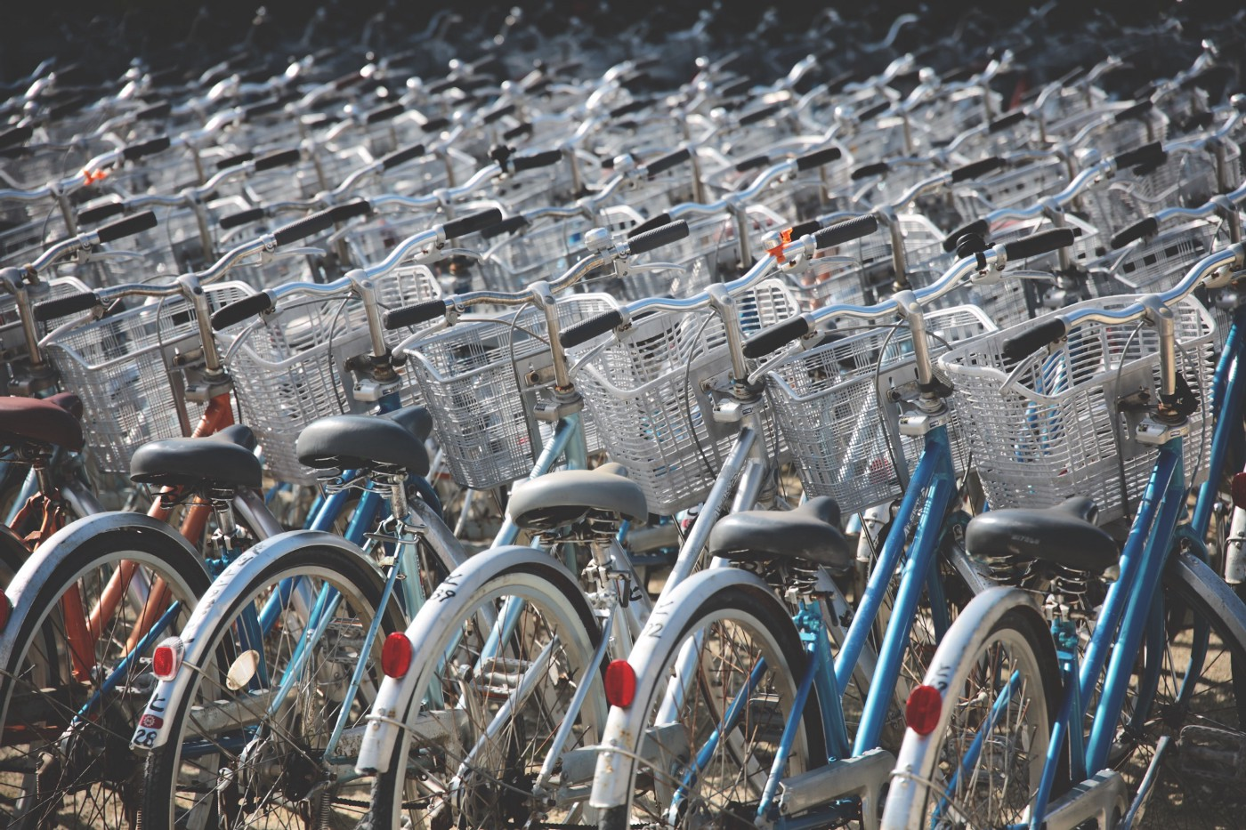 A collection of bicycles