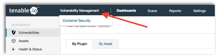 Activate a Tenable.io Container Security trial