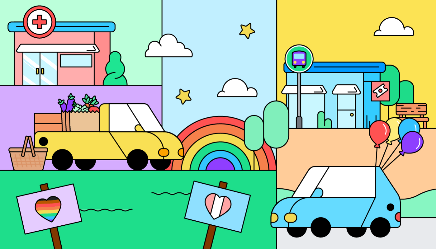 Mobility plays an essential role in strengthening queer communities in small towns.