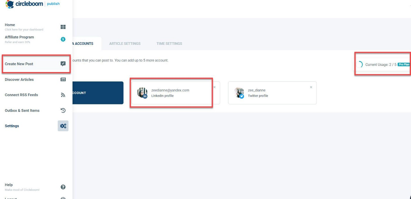You can schedule posts on your LinkedIn Company Page or your Profile from the Create New Post dashboard.