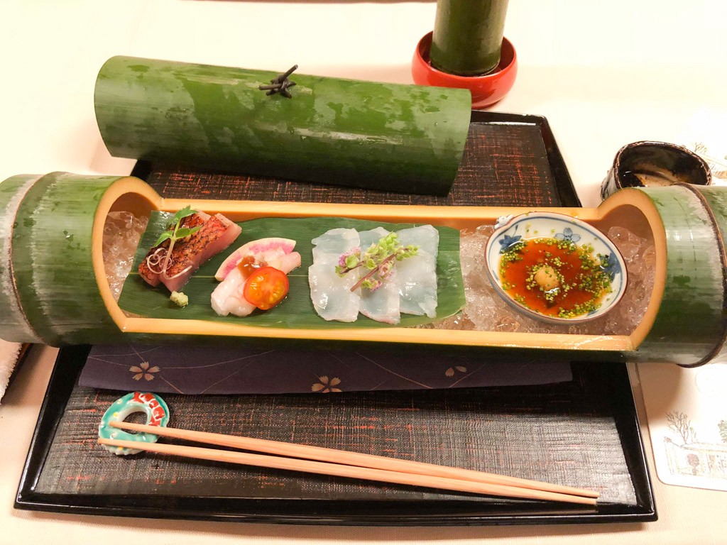 A traditional meal in Kyoto—Photo by Priya from Outside Suburbia