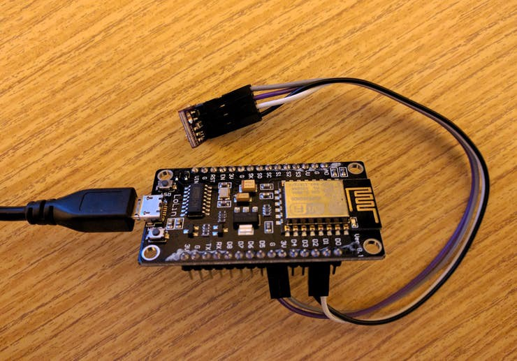 Simple Weather Station with Amazing Web Monitoring - Michal Kren
