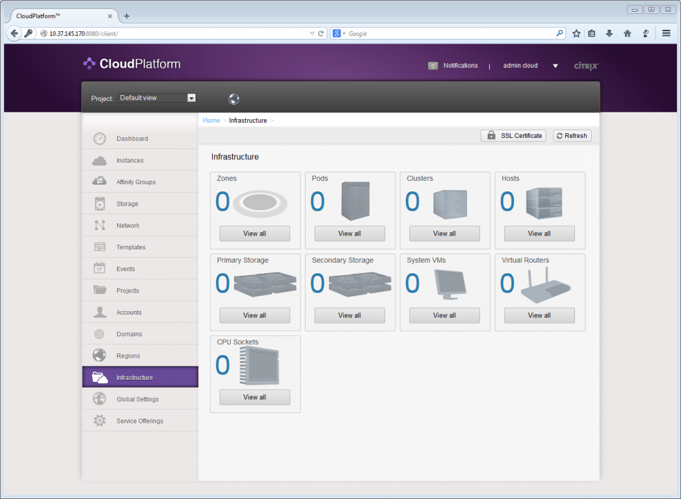 Design, deploy and configure your first CloudStack in a single ESXi