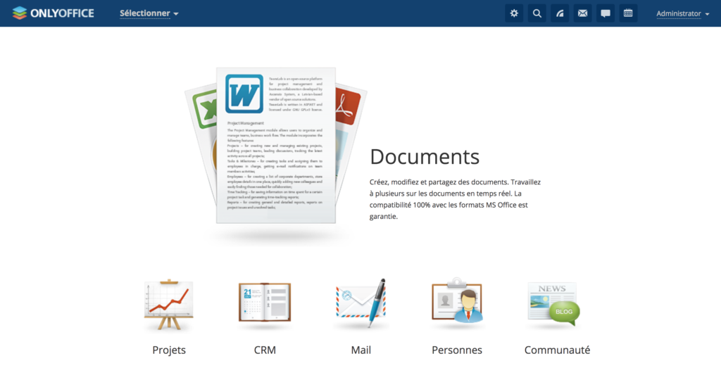 With OnlyOffice, move away from Google Docs and Office365