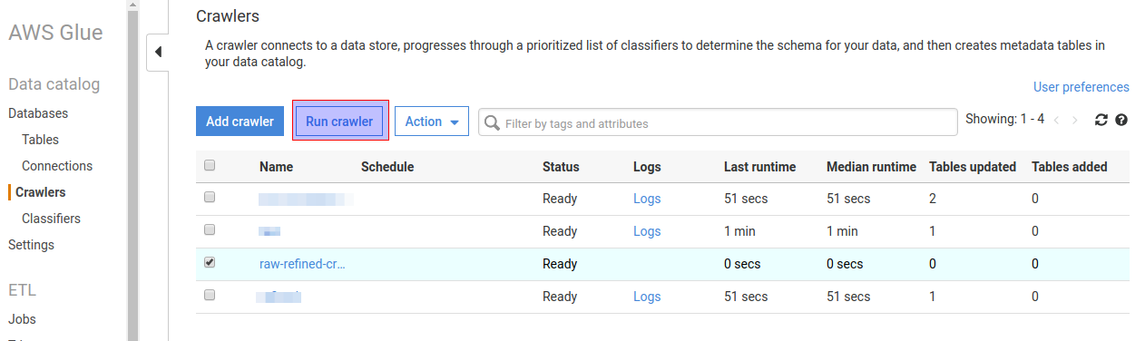 Create an ETL solution using AWS Step Functions, Lambda and Glue