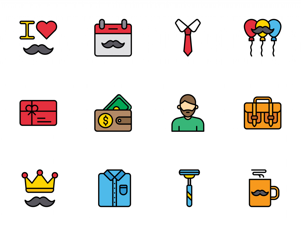 fathers day icons on iconscout